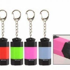 2013 Latest Hexagon Mini Led Flashlight Keychain