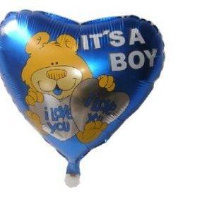 "18"" heart aluminum balloons"