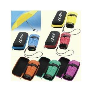 Five Section Mini Umbrella with EVA Case