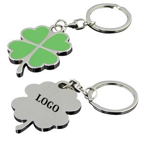 4 leaf clover key chain