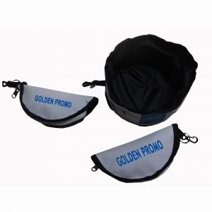 Zipper Folding Pet Bowl w/ Plastic Buckle