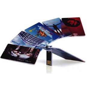 2GB USB Drive/Credit Card